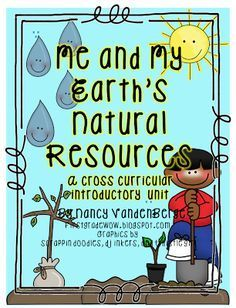 (Earth Science)First Grade Wow: A Natural Resources Unit (FREE!) Integrated with writing, math, etc. Kindergarten Science, Elementary Science, Science Classroom, Teaching Science, Science Activities, Science Ideas, Teaching Ideas, Classroom Ideas, Science Fun