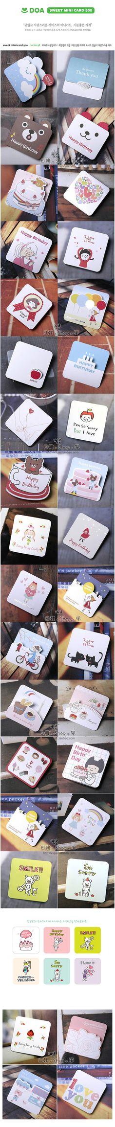 Aliexpress.com: Comprar 2 packs / lot plegable de la historieta postal de tarjetas de felicitación tarjeta de regalo de cumpleaños mensaje bloc de notas con el sobre de embelishments tarjeta fiable proveedores en Look Here- More Suprise