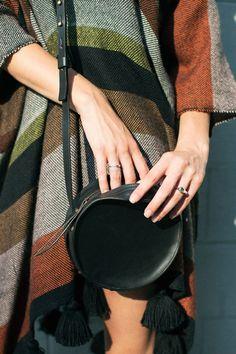 Sara Barner Black Circle Bag | BONA DRAG