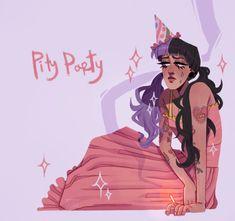 Melanie Martinez Anime, Melanie Martinez Drawings, Crybaby Melanie Martinez, Ariana Grande Gif, Cry Baby, Favorite Person, Adele, Cool Drawings, My Idol