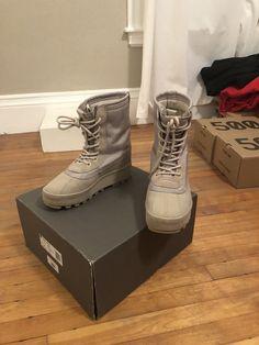 e13f6fcf244 Yeezy 950 boot AQ4828 Peyote 9 Used Box Extra Laces  fashion  clothing   shoes