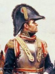French Cuirassier General   ... Louis-Brigitte Espagne in his uniform of general of the cuirassiers