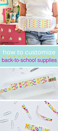 How to customize back-to-school supplies for kids