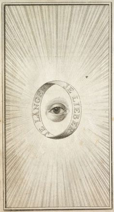 "Illustration from a book by German mystic Jakob Boehme (1575 – 1624).  The text reads ""the longer, the better."""