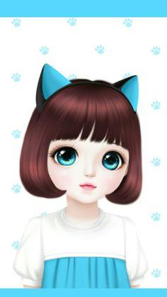 105 Best Lovely Doll Images Korean Anime Korean Art Korean