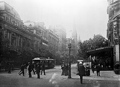 1900, Collins St looking East, Melbourne