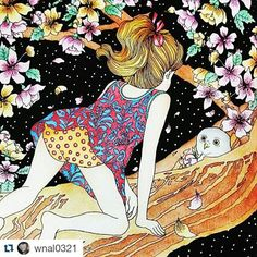 Que maravilhoso! By @wnal0321 with @repostapp ・・・ #시간의정원 #컬러링북 #colouringbook #coloringbook #dariasong #ofeitiçodotempo #thetimegarden #jardimsecreto
