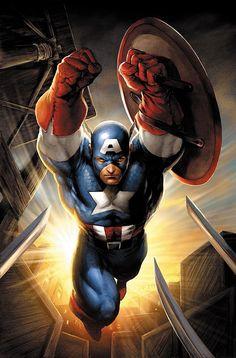 Captain America by Jim Lee   HW