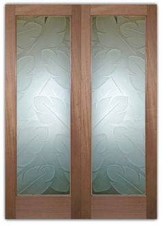 1000 images about etched glass doors on pinterest - Interior doors with frosted glass inserts ...