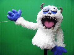 Betty Yeti Professional Puppet by JohnnyCoffins