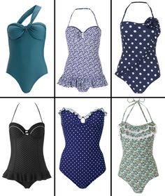 vintage bathing suits... Don't usually like vintage but bathing suits are the exception. 40s ones are even better though.