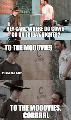 Cows.<<< I'm so sorry carl...you have been through so much and now this...