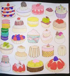 Colouring Paris Secreto Pasteles Zoe de las Cases
