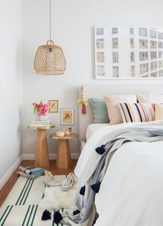24 Beautiful Bedroom Ideas to Makeover Your Space via Brit Co