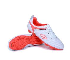 Umbro Cup AG Football Boots White Pink