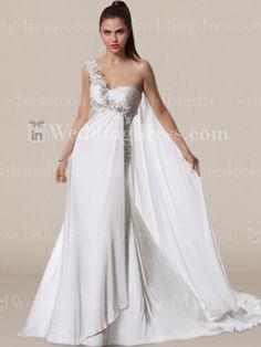 Chiffon Summer Wedding Dress BC587 | InWeddingDresshttp://www.inweddingdress.com/style-bc587.html