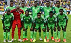 The Super Eagles of Nigeria have moved up one spot to position in the latest FIFA world ranking. World Cup 2014, Fifa World Cup, Nations Cup, Poses, Dream Team, 2 In, Soccer, Football, In This Moment