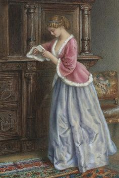 Charles F. Buckley (1841-1869) - The Love Letter