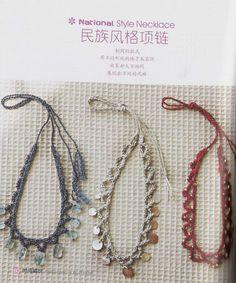 Patrones para Crochet: 2 Gargantillas de Crochet Faciles