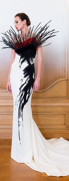 Stéphane Rolland Couture F/W 2014-2015 jaglady