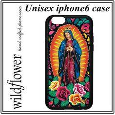【即納】とってもおしゃれ! 聖母  iphone6ケース wildflower