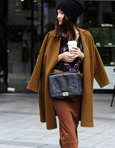 annyother | Camel Coat