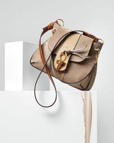 Chloe Lexa Small Shoulder Bag, Gray