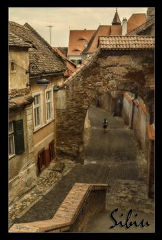 Sibiu Streets - Postcards from Romania Beautiful Streets, Beautiful Places, Amazing Places, Beautiful Pictures, World Travel Guide, Travel Guides, Travel Tips, Travel Around The World, Around The Worlds