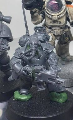 The Grim, Space Marine, Warhammer 40k, Raiders, Marines, Fig, Squats, Tabletop, Infinity
