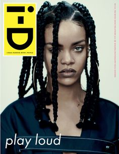 I like the box around the i-D masthead and think the contrast between that and the image would really suit the angle my magazine is taking.