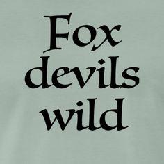 Devil, Fox, T Shirt, Funny T Shirts, Supreme T Shirt, Tee Shirt, Foxes, Tee, Demons