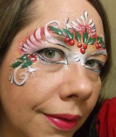 Christmas Face Paint Design