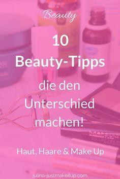 10 Beauty-Tipps, die du kennen musst! .... Haar Tutorials, Makeup Tutorials, Beauty Produkt, Beauty Empfehlungen, Haar Anleitungen, DIY Beautyprodukte, hair removal, Haarentfernung, Peeling, Waxing, Epilieren, Schminken, Kosmetik, Cosmetics, Hair Styling, Körperpflege, Mascara, Lidschatten, Lipgloss, Lippenstift, Hauptpflege, Skincare, Gesichtspflege, Gesichtsmaske, Hautunreinheiten, Beauty Hacks, Makeover, Haare, Gesicht, Pflege, Hautpflege, Wimpern, Mascara, Makeup, Gesichtspflege