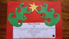 Easy to make Christmas invitation