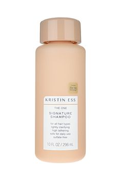 Finally, A High-End Celebrity Hair Care Line You Can Actually Afford #refinery29  http://www.refinery29.com/2017/01/135933/target-kristin-ess-collection-hair-products-photos#slide-1  Kristin Ess The One Signature Shampoo, $10, available on January 15 at Target. ...