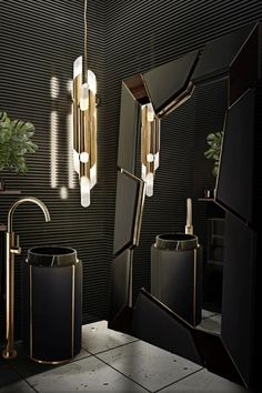 Dark Bathrooms sounds like a crazy idea, right? We will show how to style and decorate this room that most of the times get forgotten or is regarded as less important! The design process of a bathroom as to come from a clear understanding of who will be using it.   #bathroomdesign #contemporarybathrooms #modernbathrooms #classicbathrooms #mid-centurybathrooms #eclecticbathrooms #luxurybathrooms