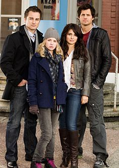 Life Unexpected - TV Series. Main Cast Characters left to right ... Ryan, Lux, Cate and Baze.