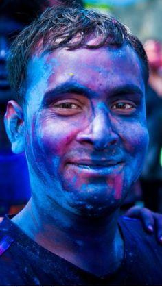 Azul- Holi Color Festival