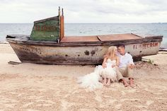 Beach Trash the Dress in Cancun, Mexico by Quetzal Photo. #ExcellenceGroup Weddings
