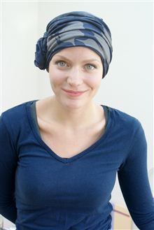 Turban for hair loss by Suburban Turban, turning up the style and helping women feel their gorgeous, confident best during chemotherapy or alopecia