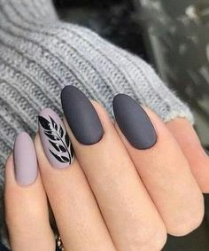 Cute Grey Nail Art Designs to Look Pretty on Parties Cute Grey Nail Art Designs to Look Pretty on Parties More from my site Lovely Grey and Golden Strip Nail Art Designs Cute pink bows with grey and pink nails Slate grey nail art design Perfect Nails, Gorgeous Nails, Pretty Nails, Grey Nail Art, Matte Nail Art, Acrylic Nails, Grey Art, Dark Grey Nails, Matte Gray Nails