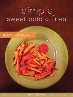 Simple Sweet Potato Fries Recipe