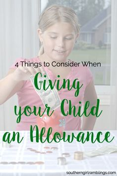 Wondering about an allowance for kids? These tips will help you decide when and how much to give your children!