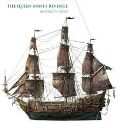 Queen Anne's Revenge, Blackbeard's ship