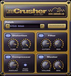 get your #free distortion plugin - Camel Crusher