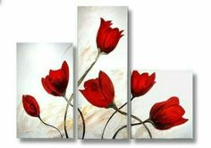 Asian Subtlety - Floral Oil Paintings on Canvas - Flower Canvas Art Multiple Canvas Paintings, Oil Painting On Canvas, Oil Paintings, Flower Canvas Art, Flower Art, Diy Wall Art, Diy Art, Diy Canvas, Canvas Wall Art