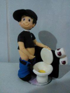 Mijão torcedor de biscuit