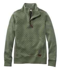 Find the best Women's Quilted Quarter-Zip Pullover at L. Our high quality Women's Sweatshirts and Fleece are thoughtfully designed and built to last season after season. Fall Winter Outfits, Autumn Winter Fashion, Winter Dresses, Fall Fashion, Winter Clothes, Winter Gear, Looks Style, My Style, Mode Outfits