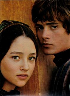 Olivia Hussey & Leonard Whiting in Franco Zeffirelli's Romeo and Juliet; 1967