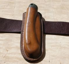 Leather sheath for BAHCO Laplander or Silky Gomboy 210 or 240 or Stihl Handycut…